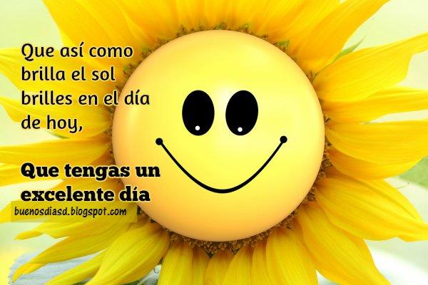 Buenos Días con un mensaje positivo, saludo corto para mi facebook de buen día por Mery Bracho.