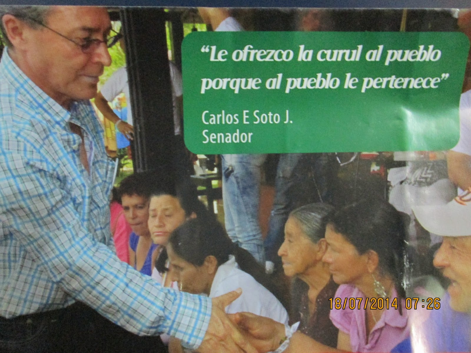 Resultado de imagen para Carlos Enrique Soto Jaramillo