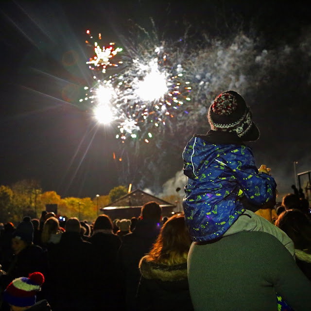 Bristol Bradley Stoke Bonfire Night Fireworks Display