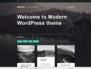 Theme Wordpress Modern Responsive Free