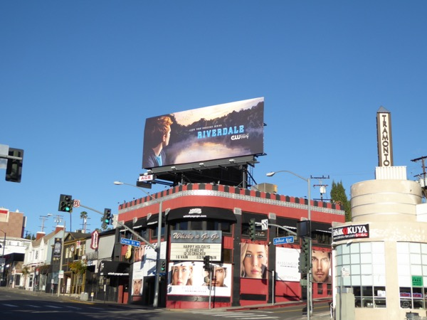 Riverdale The CW series billboard