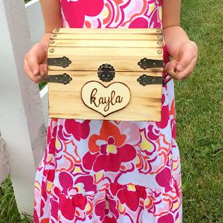 Rustic Keepsake Box