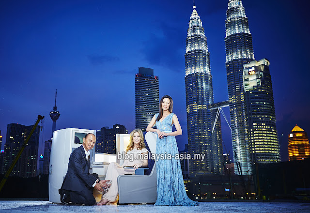 Michelle Yeoh British Airways Malaysia
