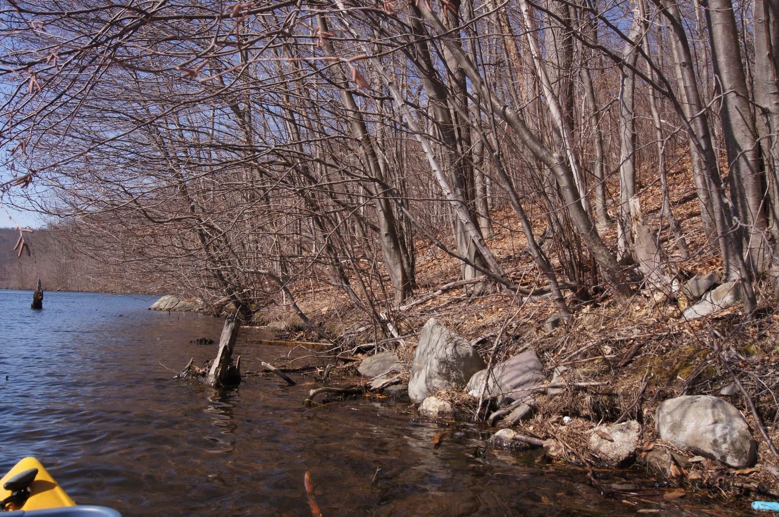 Kayak Northeast: Monksville Reservoir, Ringwood NJ - March 26th 2011