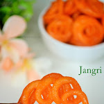 Jangri Recipe | Mini Jangri | How to make Jangri | Diwali Special Recipe