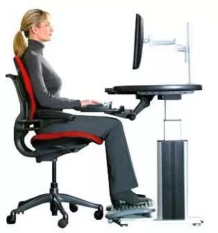 Posisi Meja dan Kursi