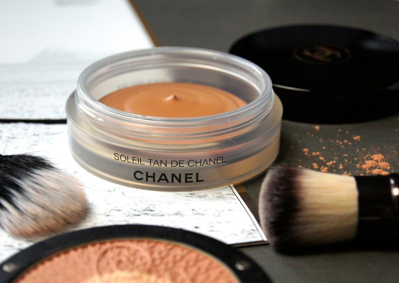 chanel soleil tan de chanel healthy glow bronzing cream-gel base review swatch