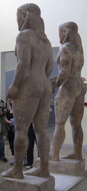 Klebis and Biton Delphi Archaeological Museum, Greece