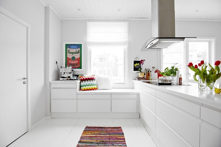 Marzua descubra las ventajas de las cocinas sin tiradores - Cocinas sin muebles arriba ...