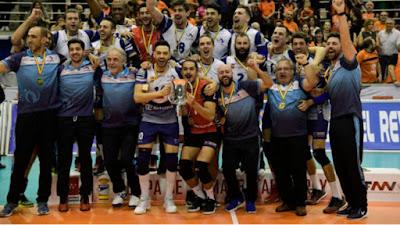 VOLEIBOL - Copa del Rey 2017 (Leganés): el Ca'n Ventura Palma revoluciona el torneo y en su primera participación logra su primer título