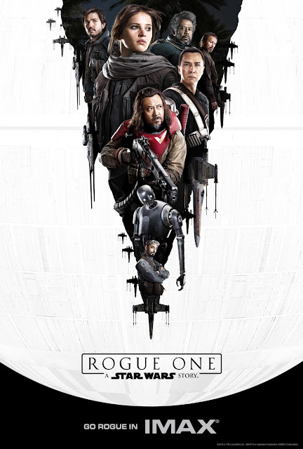 Star Wars Rogue One IMAX Teaser Movie Poster