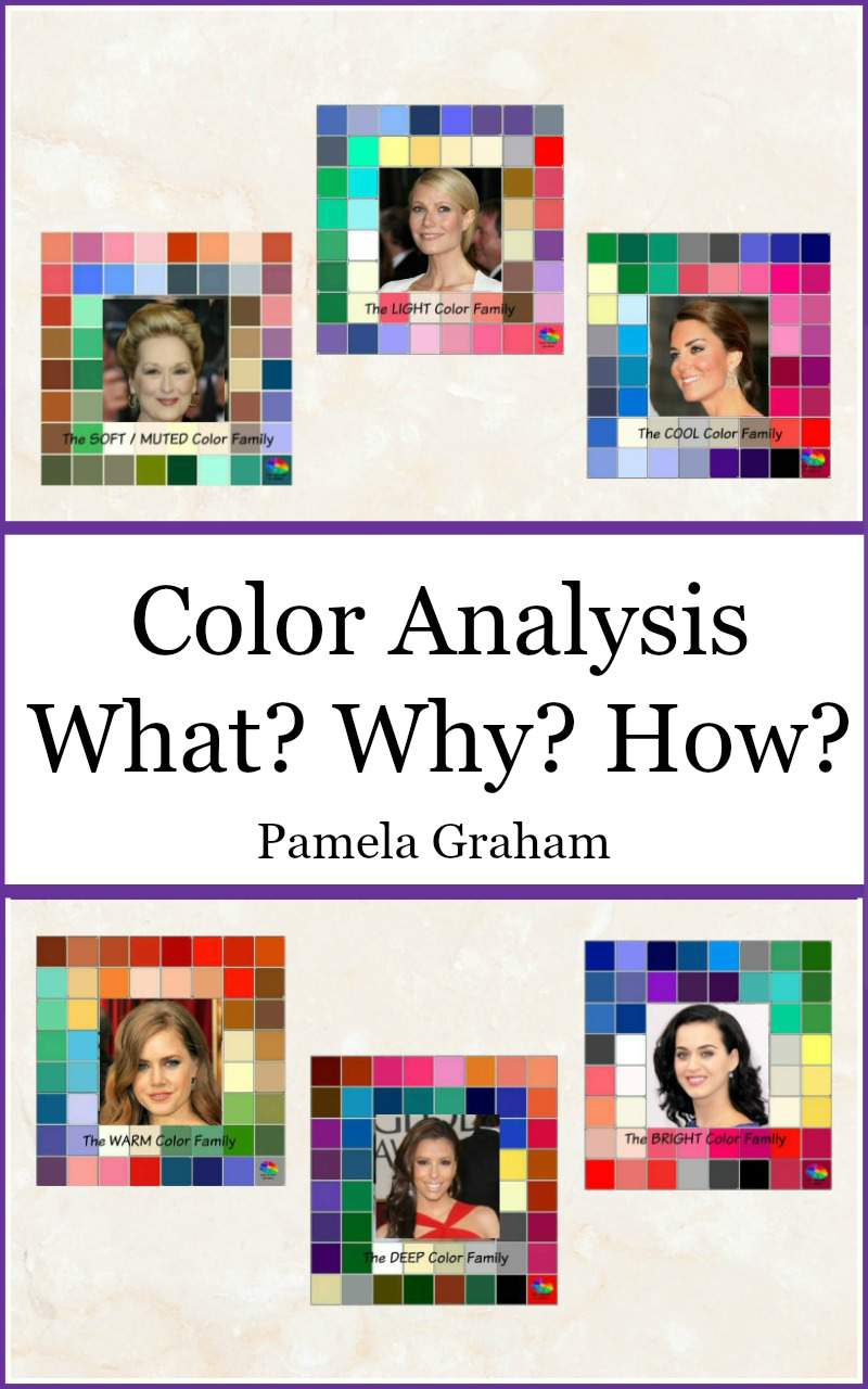 "The cover of Pamela Graham's book ""Color Analysis: What? Why? How?"""