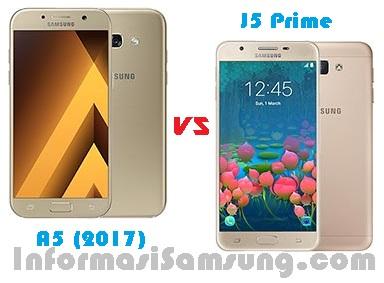 Harga dan Spesifikasi Samsung A5 (2017) vs J5 Prime