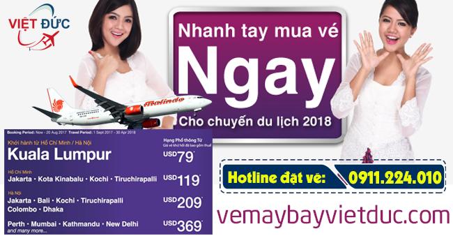 mua vé khuyến mãi Malindo Air mới nhất ngày 23/08/2017