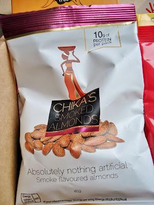 Chika's smokey flavoured almonds