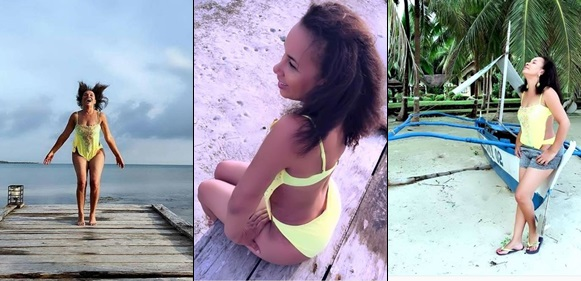 Actress Ibinabo Fiberesima Glows In Bikini-Themed Photos
