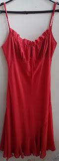 vestido vermelho Seiki tam G