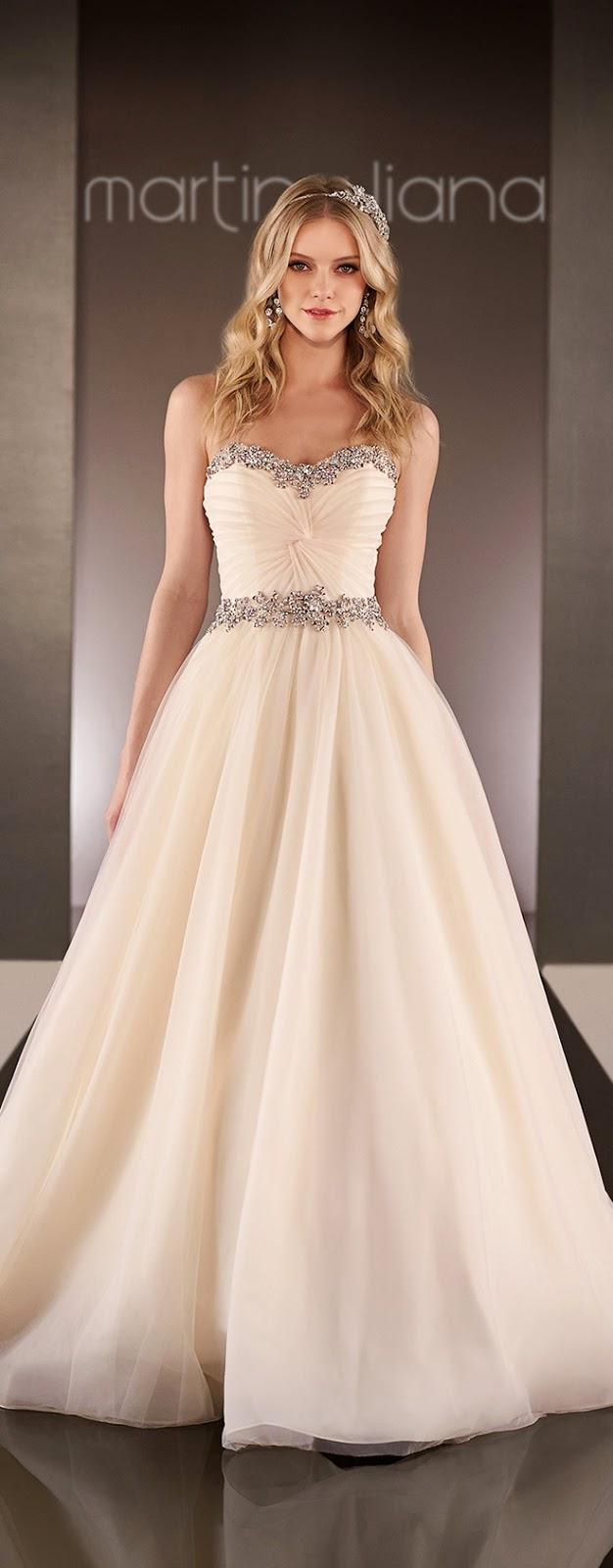 Martina Liana Spring 2015 Bridal Collection