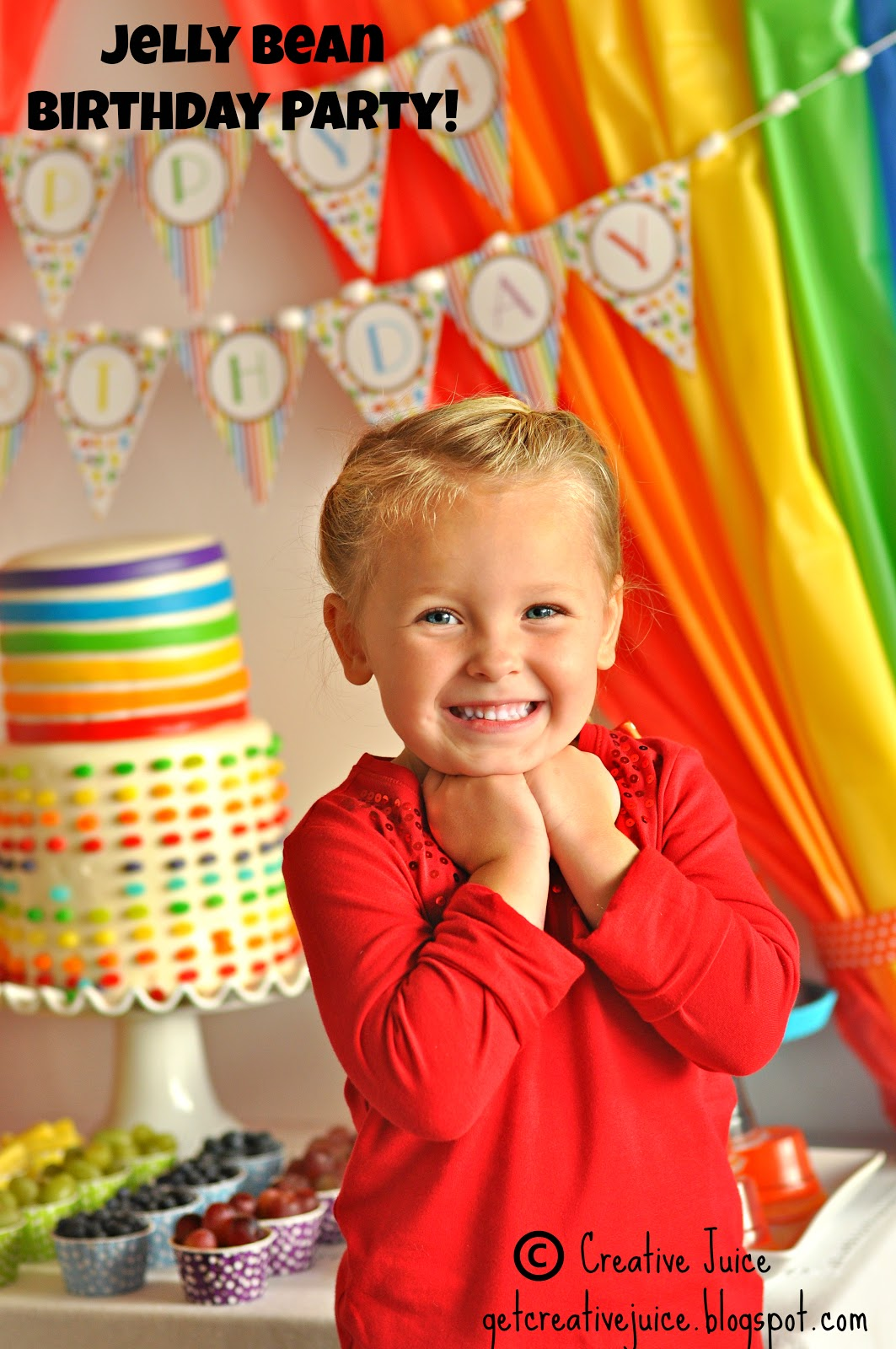 Jelly Bean Birthday Party Ideas -  via BirdsParty.com