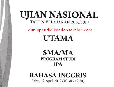 Download Soal Ujian Nasional (UN) SMA Program Studi IPA dan IPS Tahun 2013, 2014, 2016, dan 2017