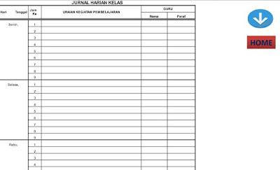 Aplikasi Pembuatan Jurnal Dan Catatan Harian Kelas Format Beru