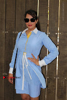 Richa Chadda Latest Pos in Blue Short Dress at the Screening Of Short Film Khoon Aali Chithi  0007.jpg
