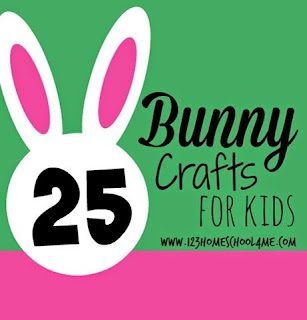 25 bunny crafts for kids