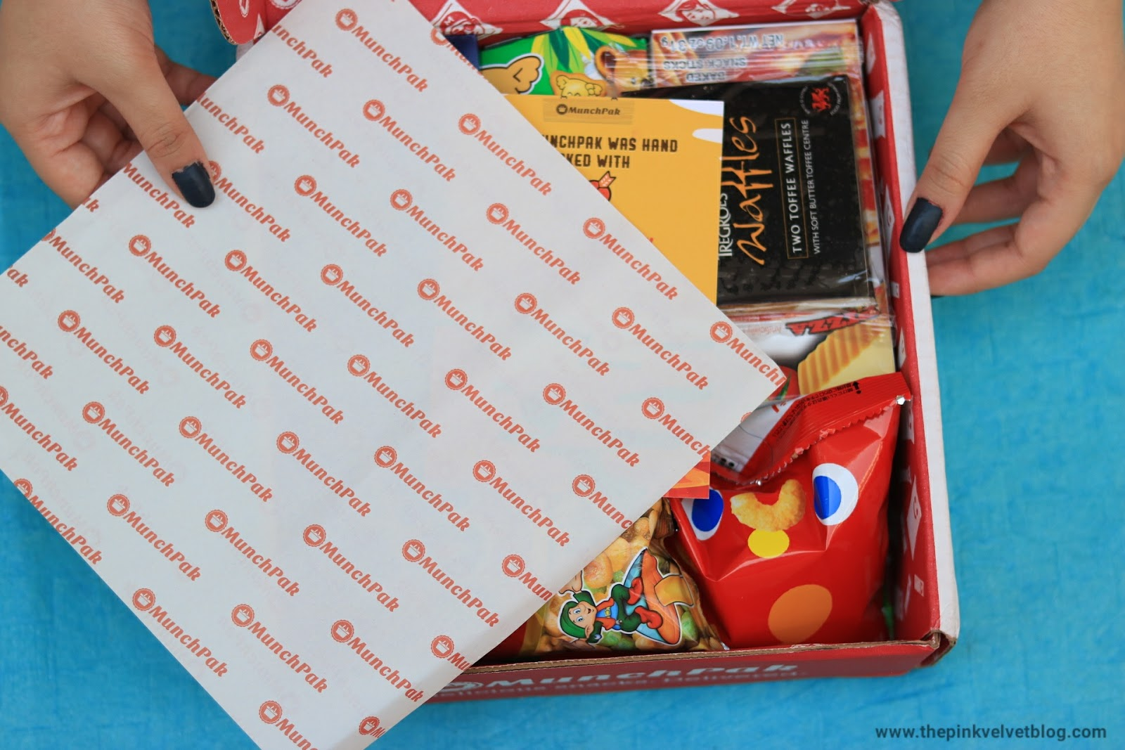 MunchPak - Monthly Snack Subscription Box