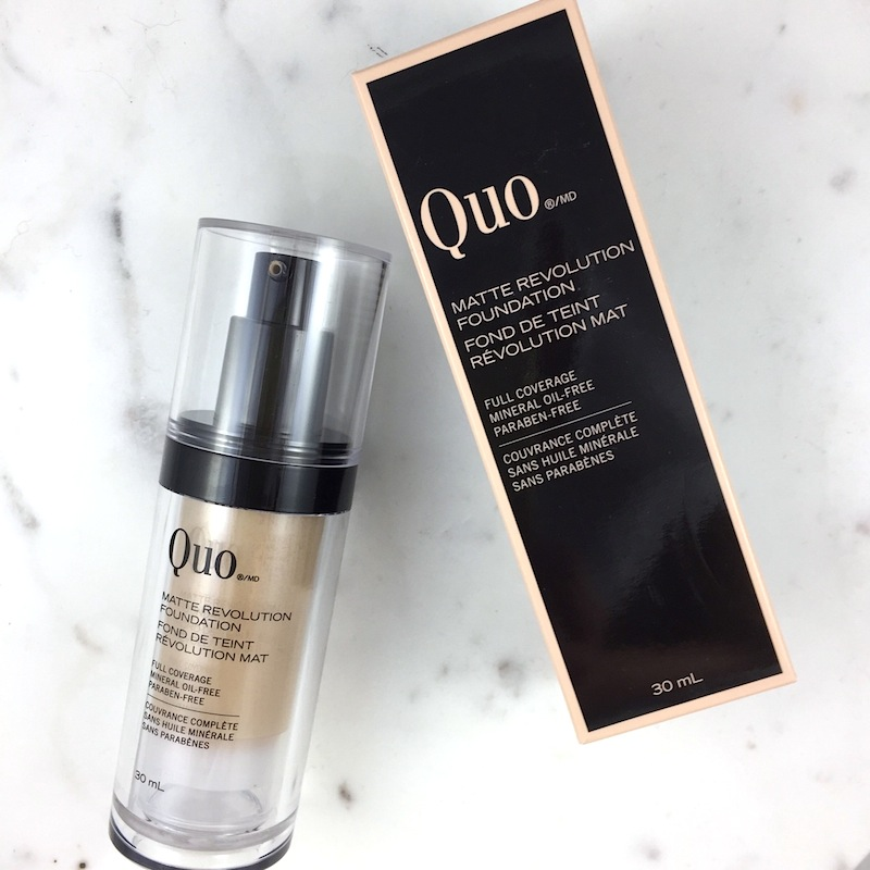 Quo Matte Revolution Foundation: A quick review