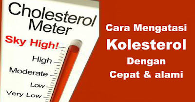 Cara Mengatasi Kolesterol Dengan Cepat & alami