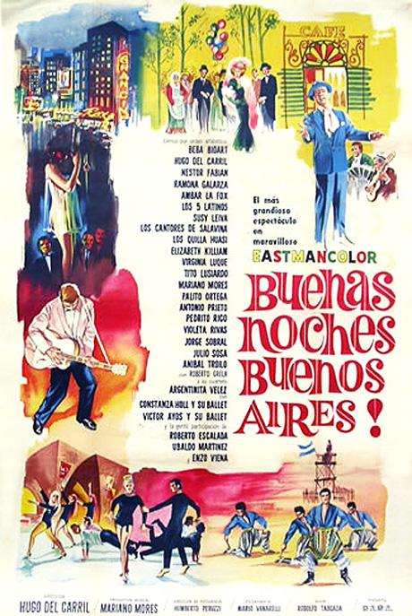 Buenas Noches, Buenos Aires: ¡Imperdible! Última proyección de la película de Hugo del Carril en el MALBA