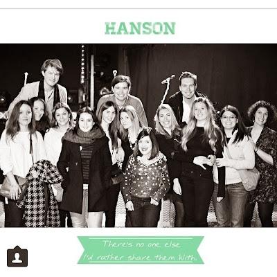 Meet & Greet avec les Hanson
