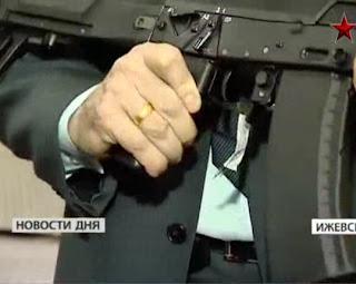 Ak-12 kalashnikov senapan serbu generasi kelima rusia