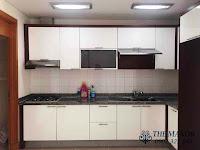 Chung cư The Manor 1 tầng thấp bán hoặc cho thuê nhà trống | phòng bếp