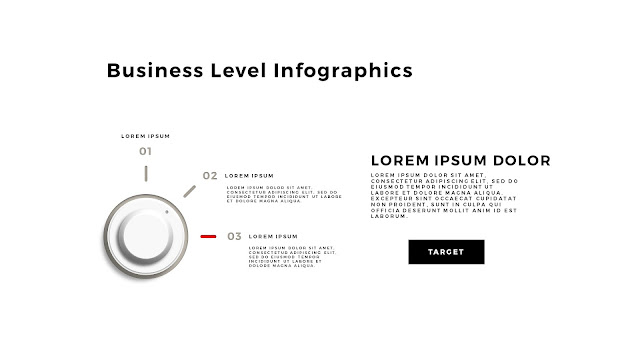 Business Level Infographics Free PowerPoint Template Slide 9