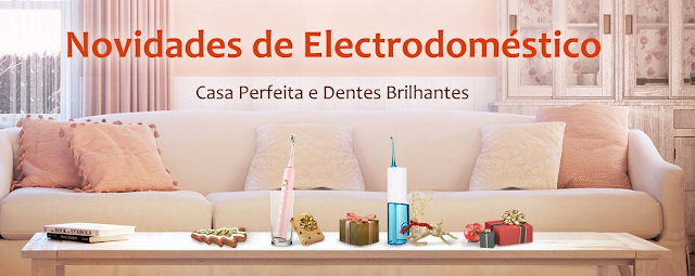 Promoção Novos Electrodomésticos na Gearbest