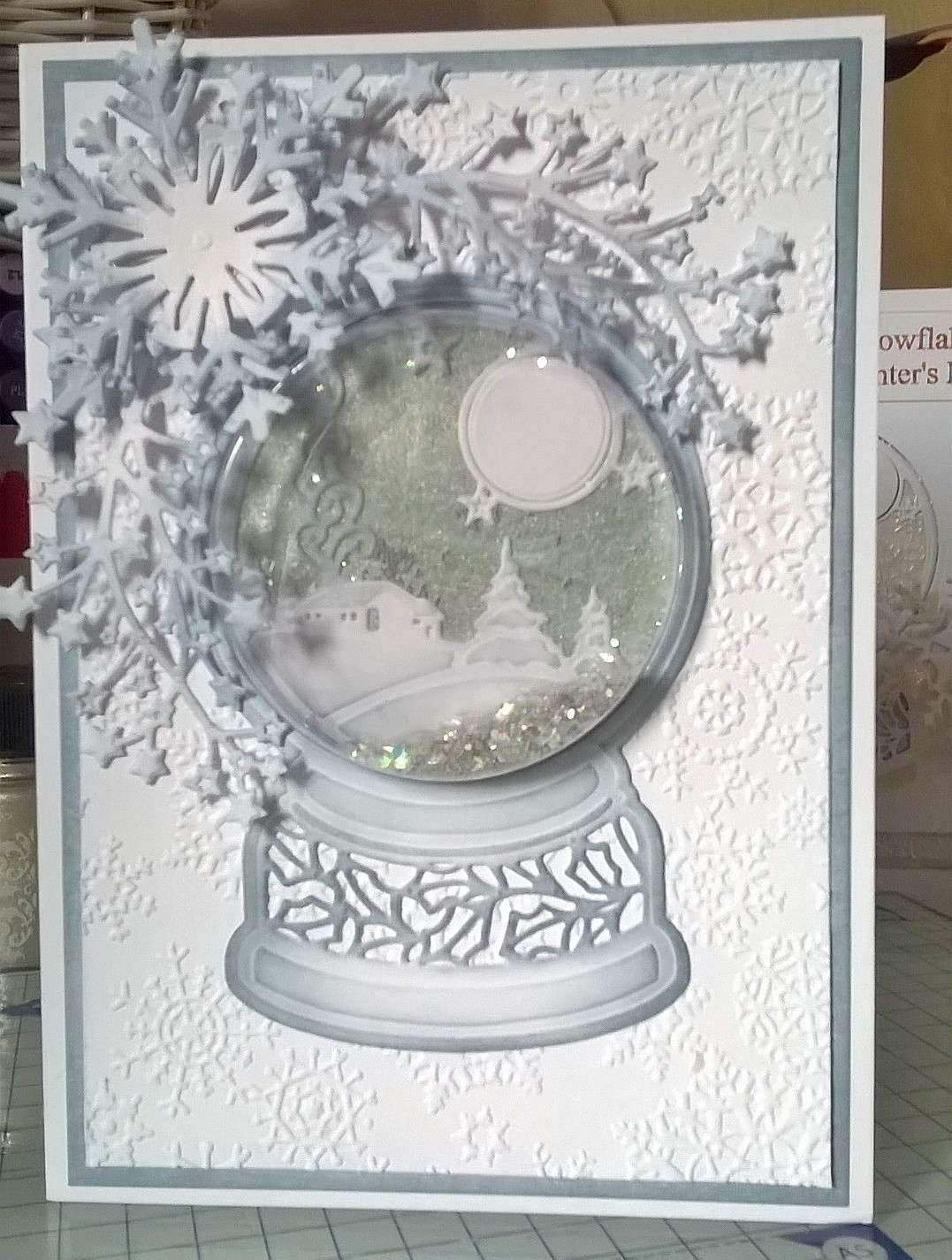 me and my inky fingers feeling festive in july snow globe from creative expressions. Black Bedroom Furniture Sets. Home Design Ideas
