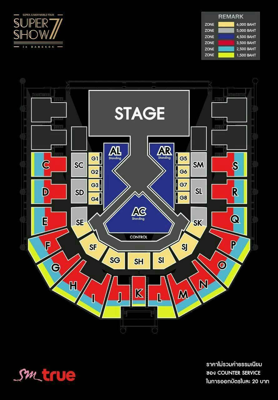 About Super Junior: SetPlan dan Harga Tiket Super Show 7 in Bangkok