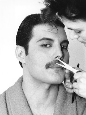 "Freddie Mercury, musician, icon and ""Queen"" of mustaches. #movember"