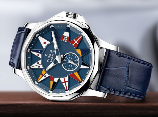 Corum Admiral Legend 32, 38 & 42 return to its roots