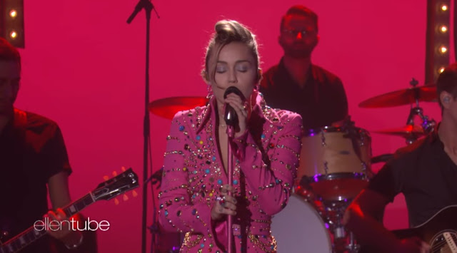 Miley Cyrus Performs 'Younger Now' on Ellen Show