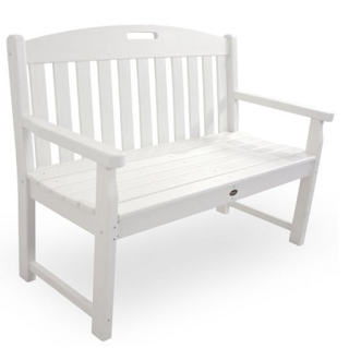 Trex Outdoor Furniture TXB48CW 48-Inch Yacht Club Bench