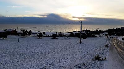 Numana con la neve