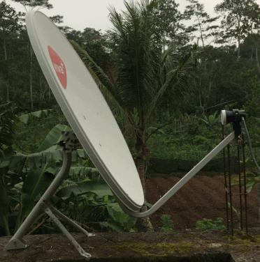 Tracking Thaicom 5/6/8 at 78 5°E Ku-band dengan Dish 80 cm Area