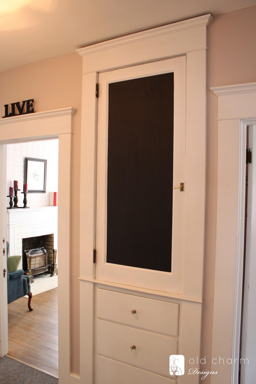 BOISERIE  C Pittura Lavagna  Chalk Board Paint 24