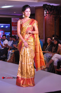 South Indian Celebrities Pos at Love For Handloom Collection Fashion Show  0083.jpg