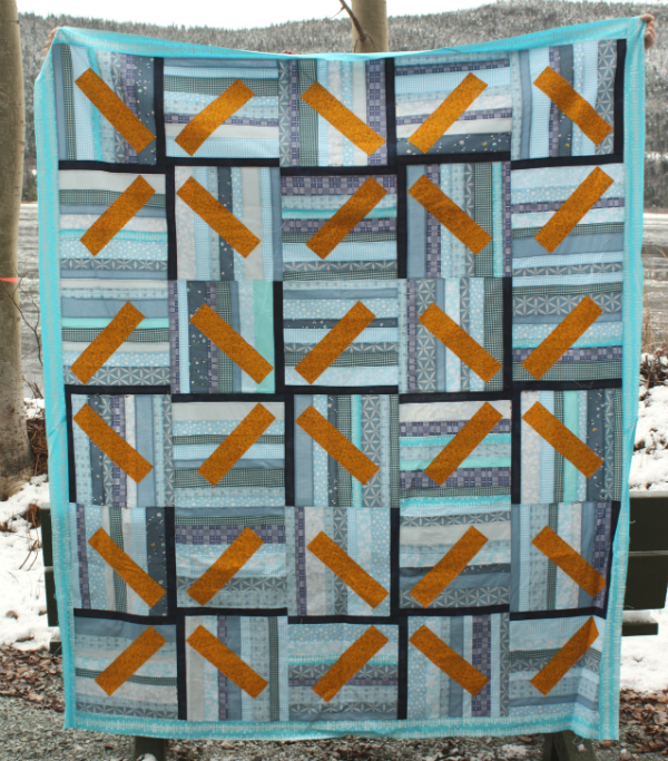 Wind Farm quilt top | DevotedQuilter.blogspot.com