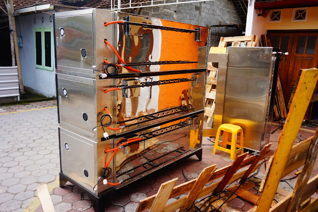 Oven Gas 3 Deck Semi Otomatis Murah Banget
