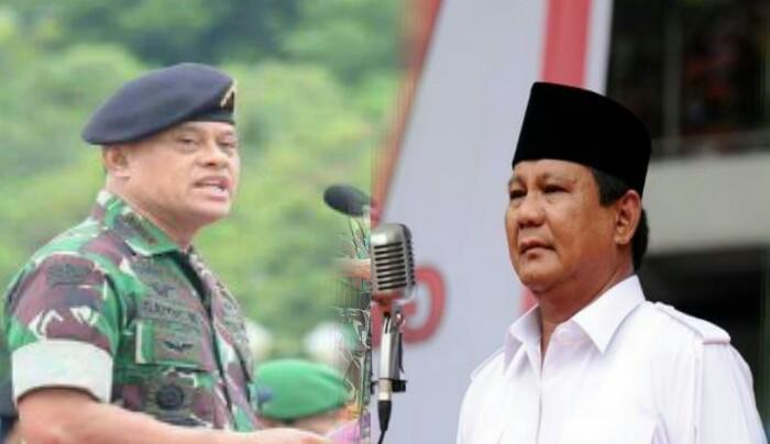 Image result for gatot dan prabowo