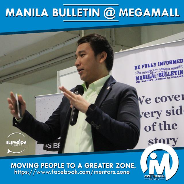 TALK: Manila Bulletin (Megamall) - Leadership Speaker Philippines